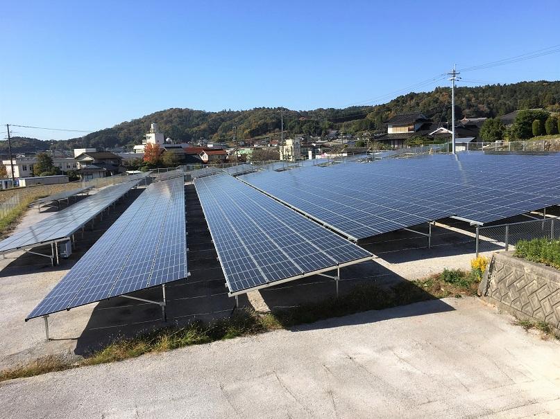 太陽光発電設備 現場写真